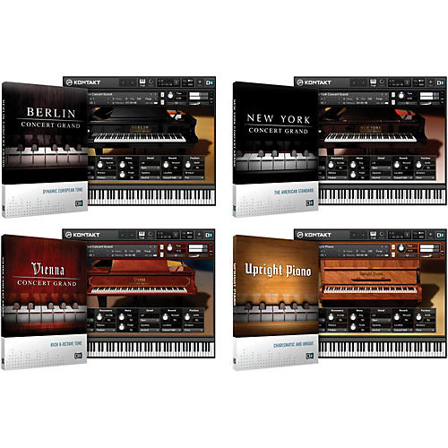Native Instruments Acoustic Pianos Bundle thumbnail