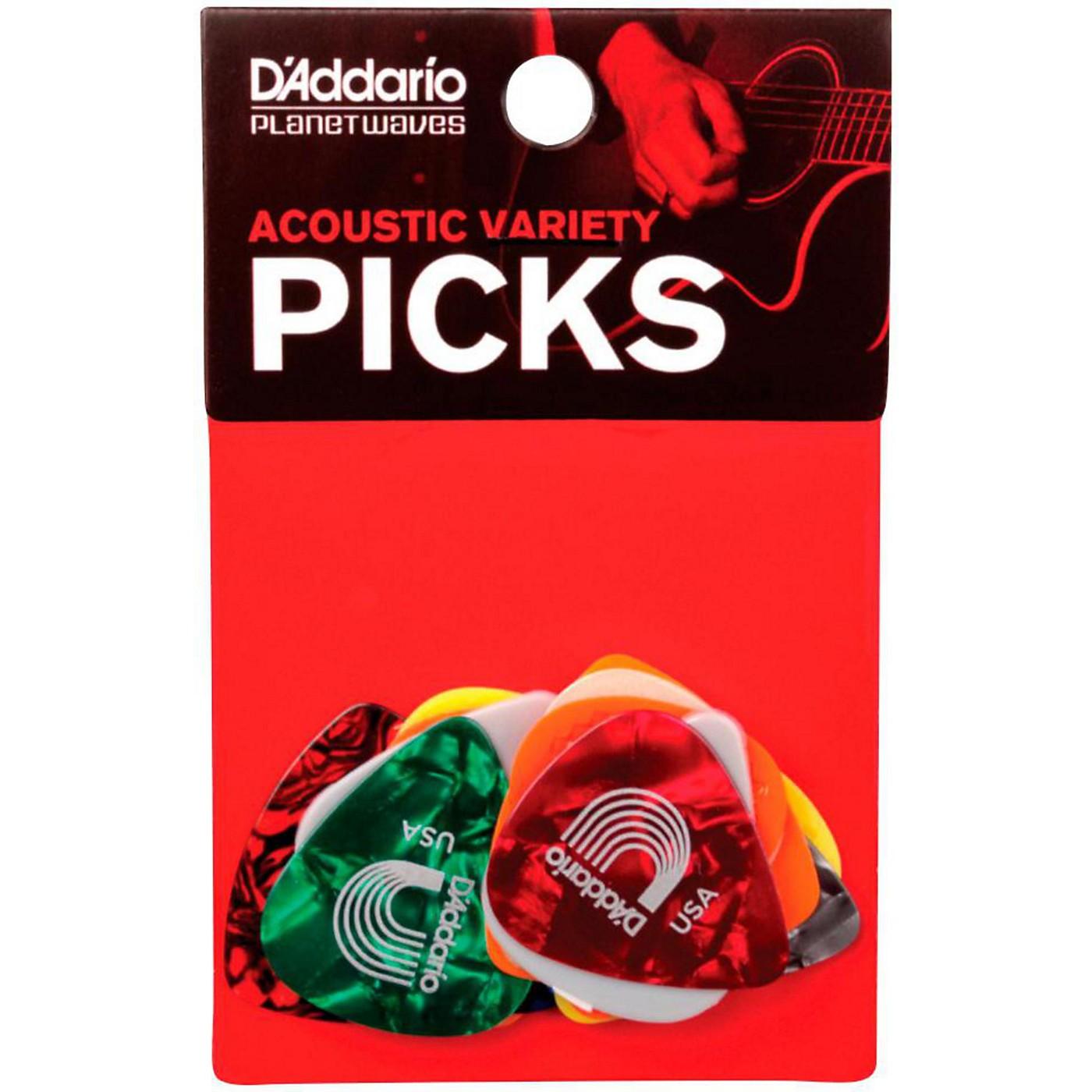 D'Addario Acoustic Pick Variety 13-Pack thumbnail