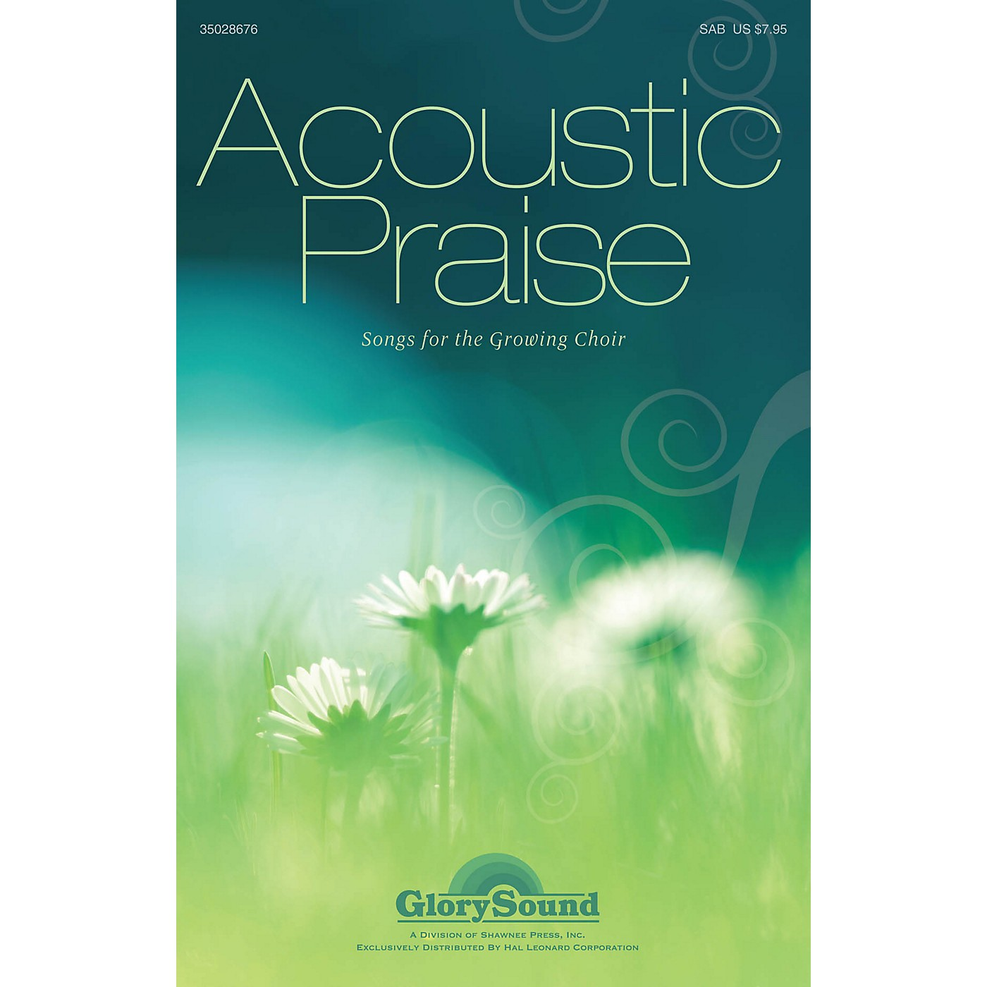 Shawnee Press Acoustic Praise (Songs for the Growing Choir) Instrumental Accompaniment Composed by James M. Stevens thumbnail