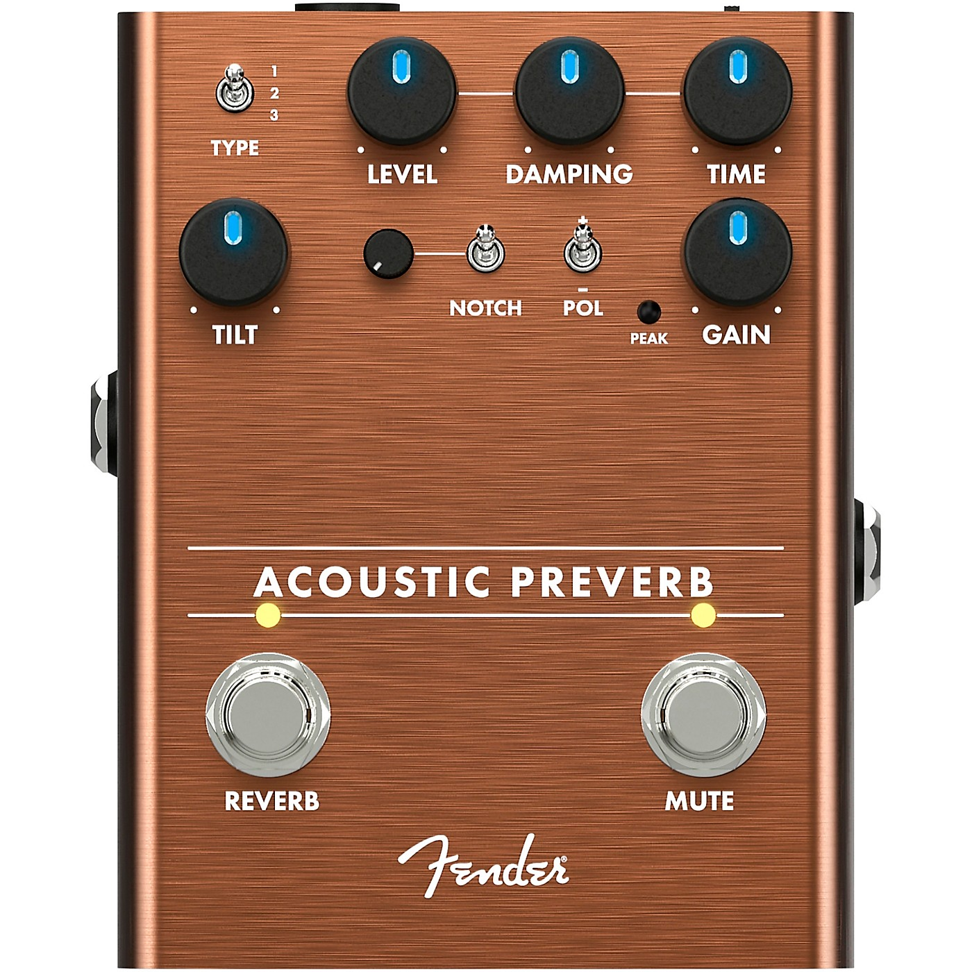Fender Acoustic Preamp/Reverb Effects Pedal thumbnail