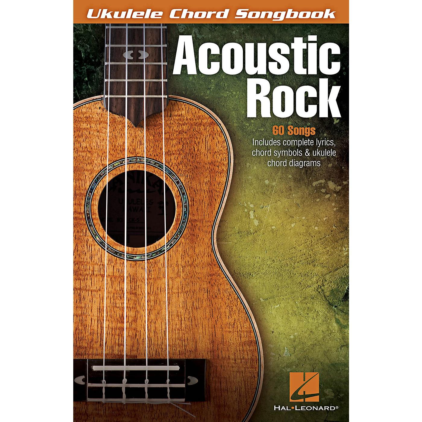 Hal Leonard Acoustic Rock - Ukulele Chord Songbook thumbnail