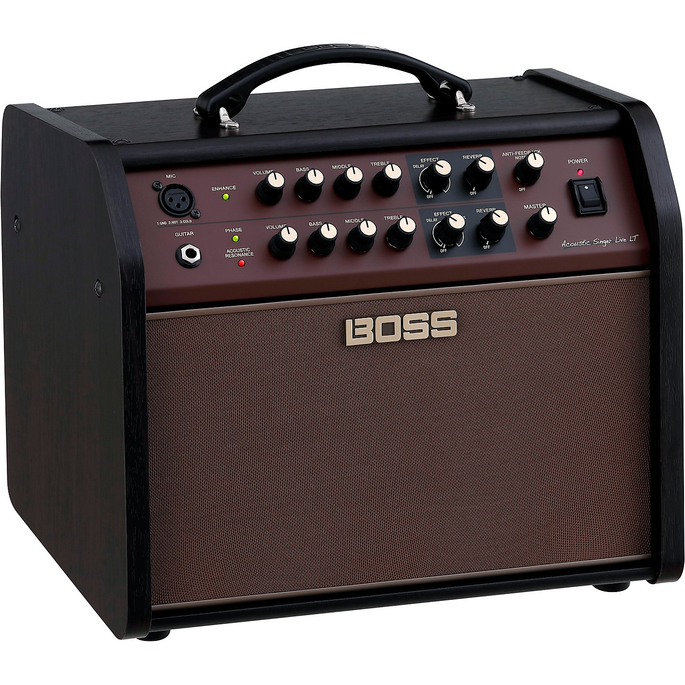 Boss Acoustic Singer Live LT 60W 1x6.5 Acoustic Guitar Combo Amplifier thumbnail