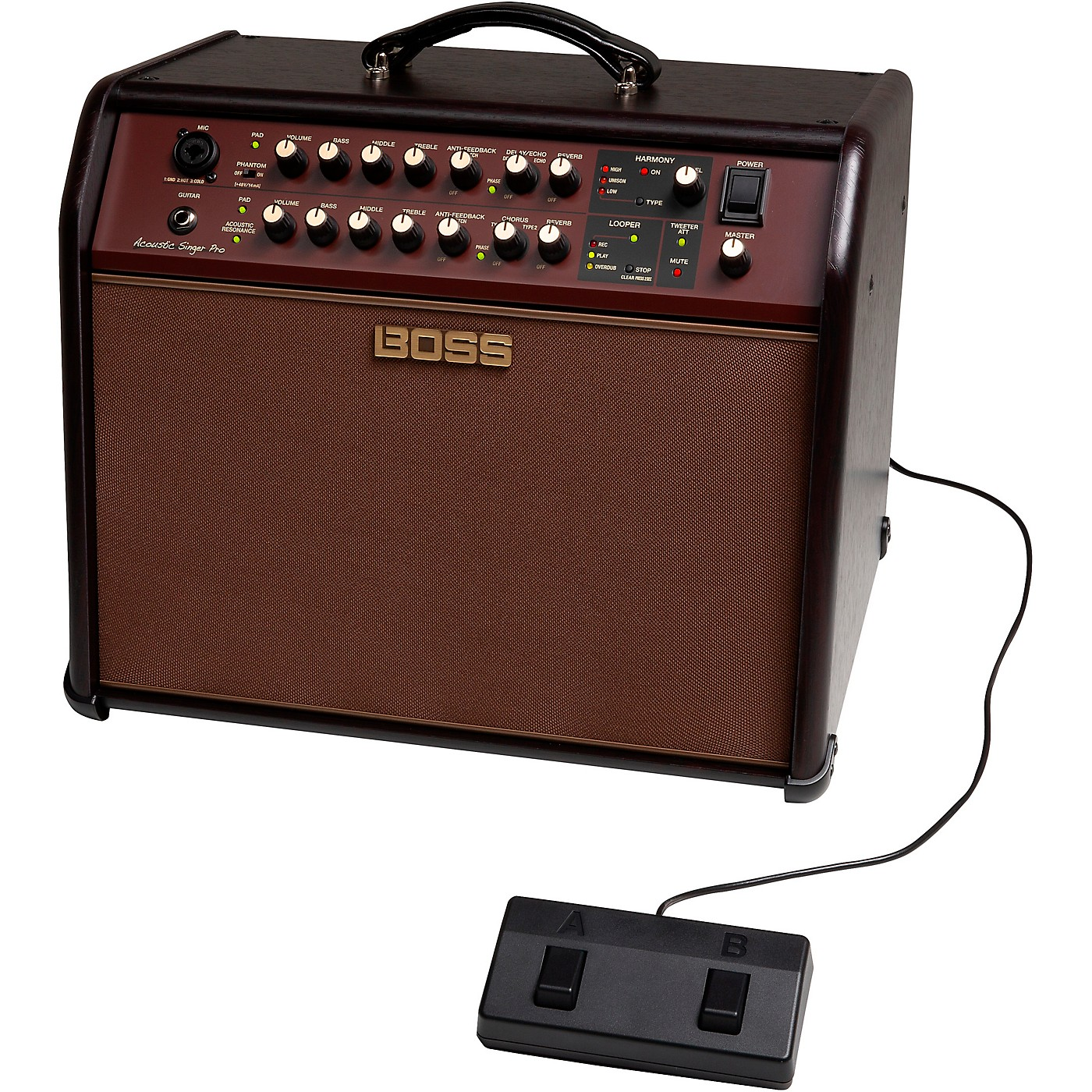 Boss Acoustic Singer Pro 120W 1x8 Acoustic Guitar Combo Amplifier thumbnail