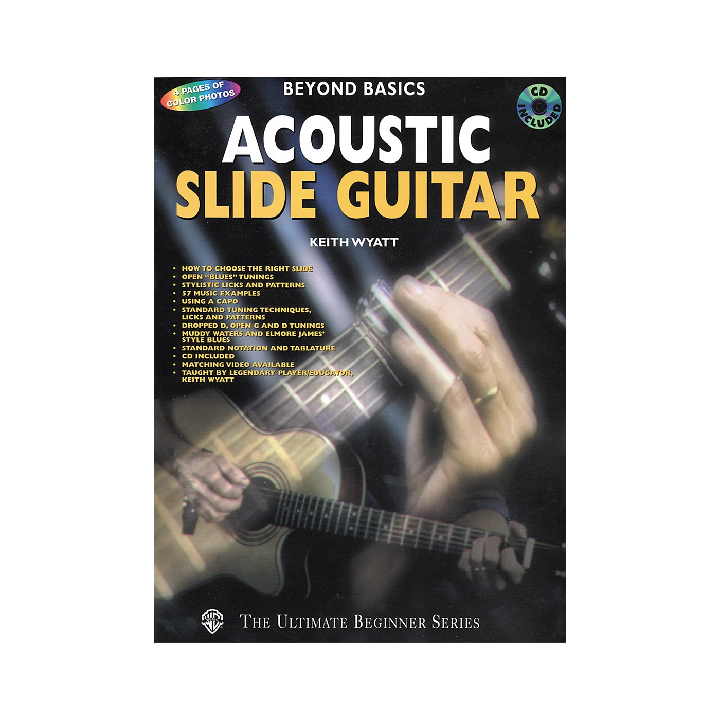 Alfred Acoustic Slide Guitar Book/CD thumbnail