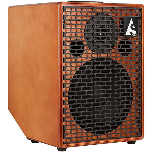 Godin Acoustic Solutions ASG150 1x8 150W Acoustic Guitar Combo Amp Wood Finish thumbnail