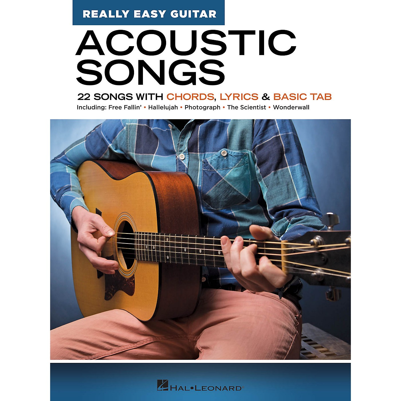Hal Leonard Acoustic Songs - Really Easy Guitar Series (22 Songs with Chords, Lyrics & Basic Tab) thumbnail