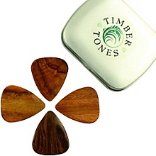 Timber Tones Acoustic Tin of 4 Guitar Picks