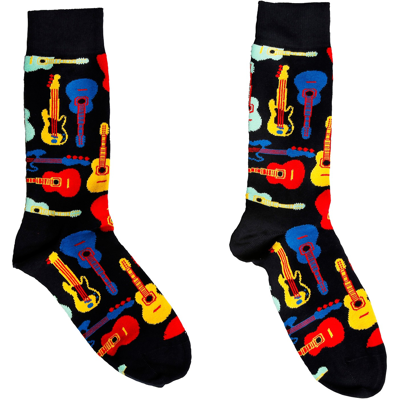 Happy Socks Acoustic and Electric Guitars Socks thumbnail