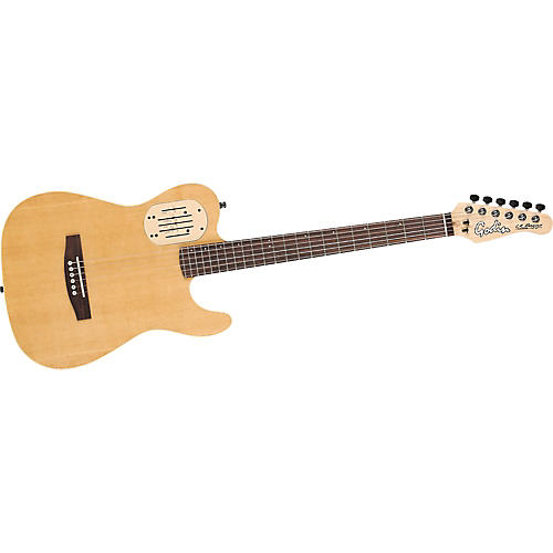 Godin Acousticaster 6 Cutaway Acoustic-Electric Guitar-thumbnail