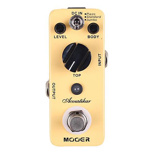 Mooer Acoustikar Acoustic Guitar Simulator Effects Pedal thumbnail