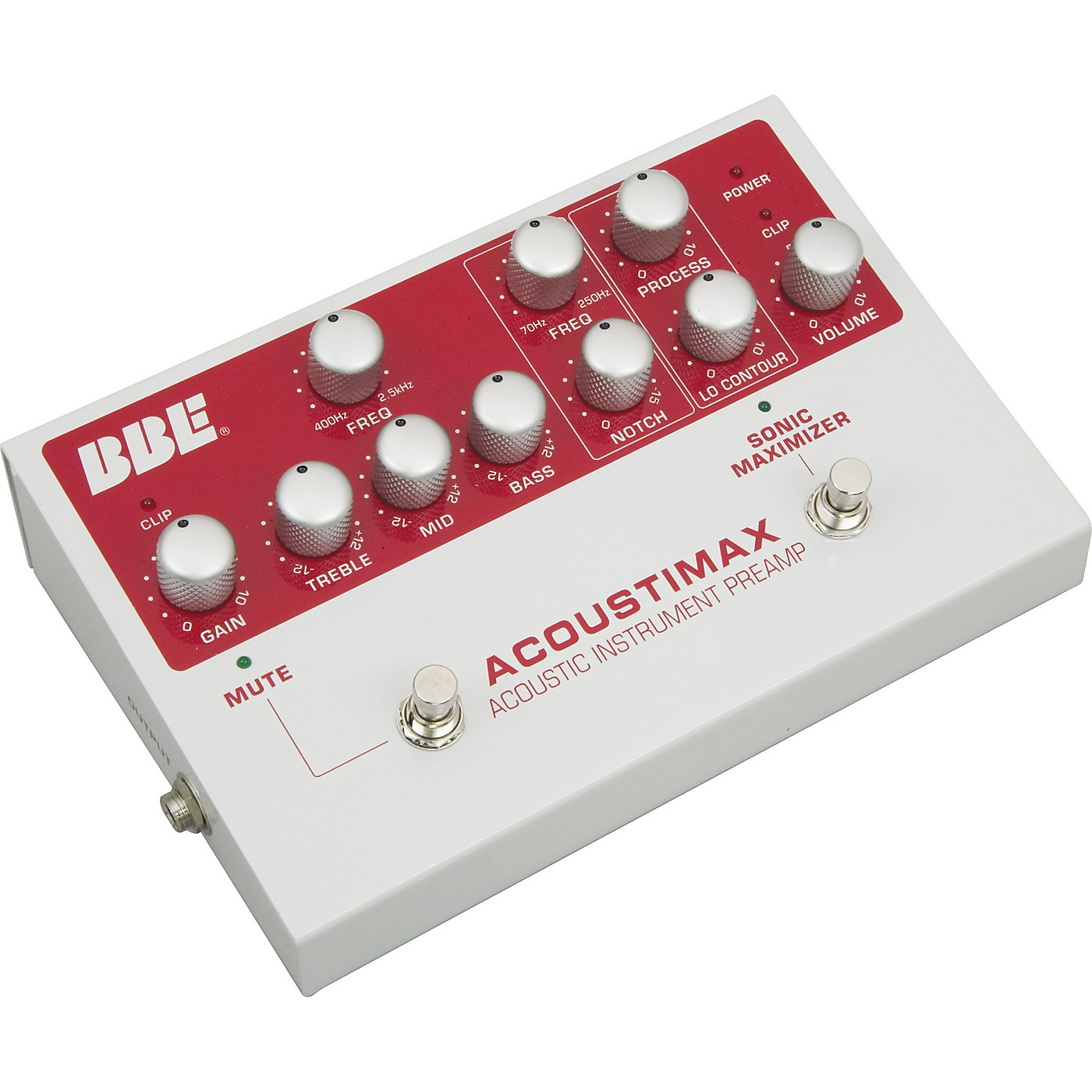BBE Acoustimax Sonic Maximizer/Preamp Pedal thumbnail