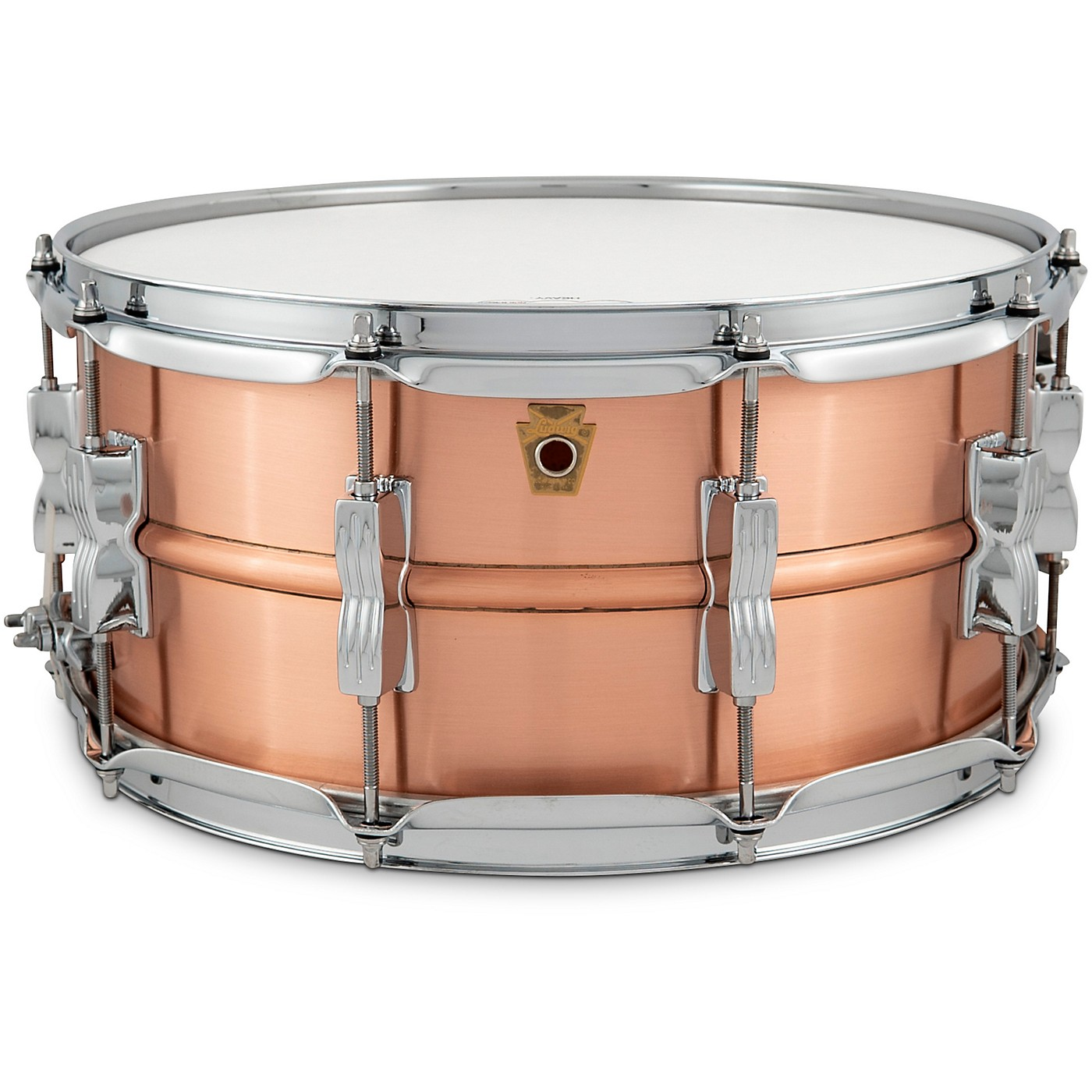 Ludwig Acro Brass Snare Drum thumbnail