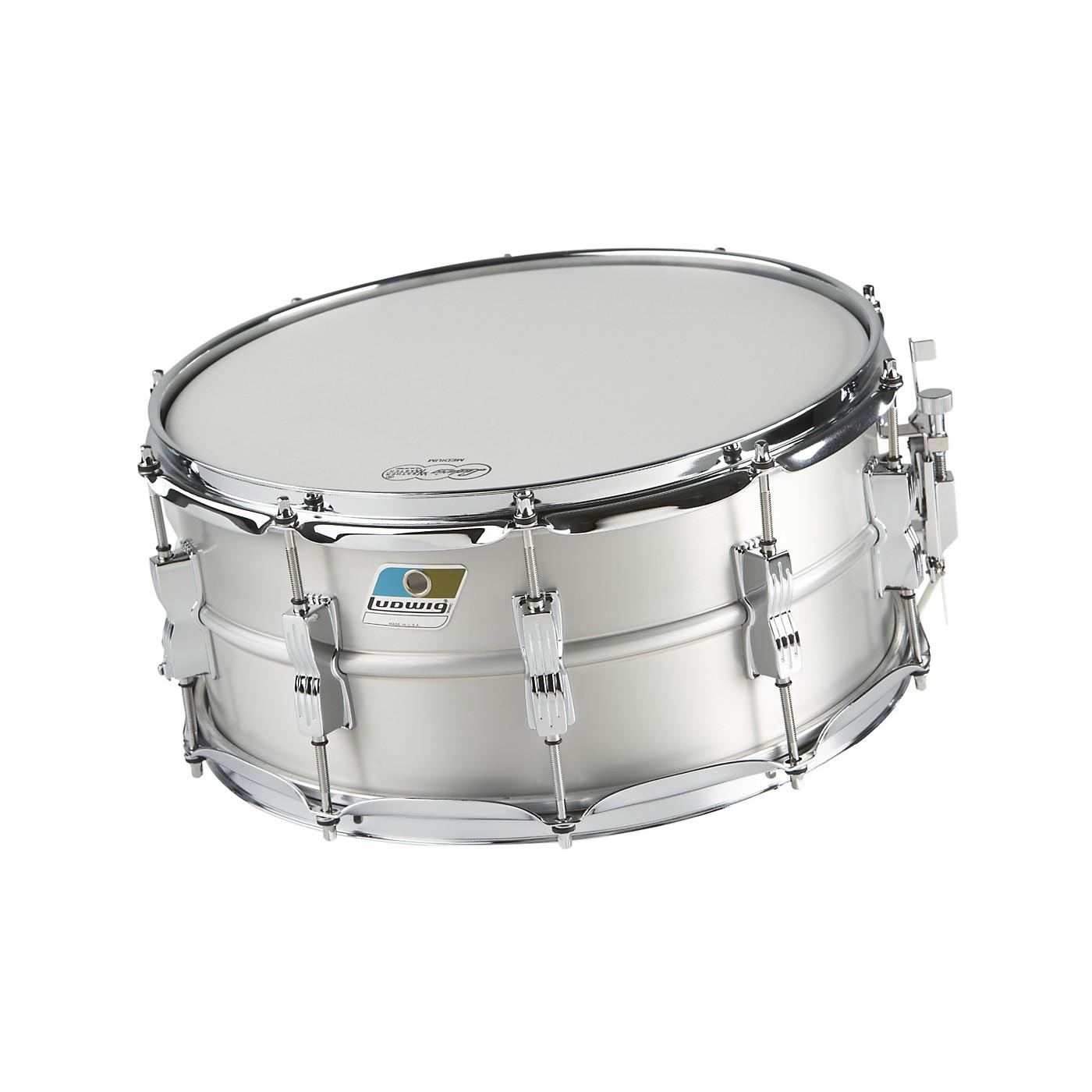 Ludwig Acrolite Classic Aluminum Snare Drum thumbnail