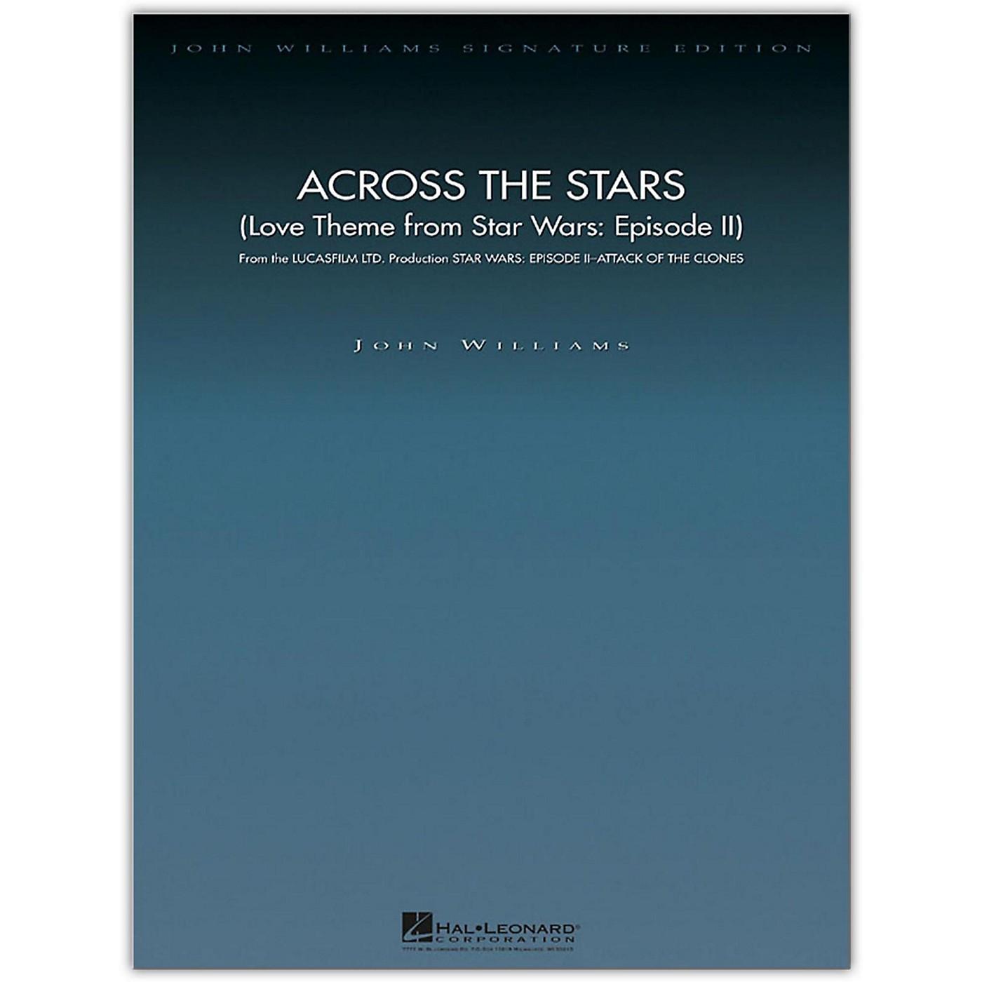Hal Leonard Across the Stars (Love Theme from Star Wars: Episode II) John Williams Signature Edition Orchestra thumbnail