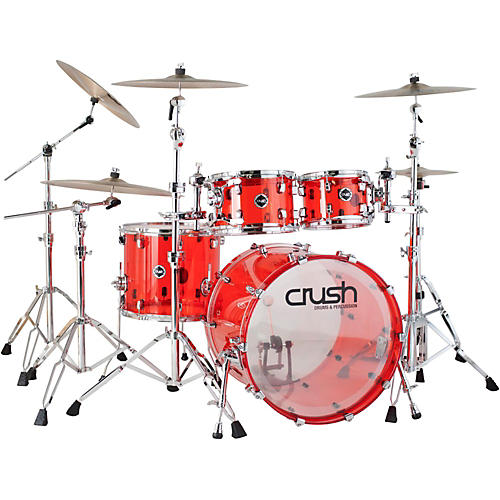 Crush Drums & Percussion Acrylic 4-Piece Shell Pack thumbnail