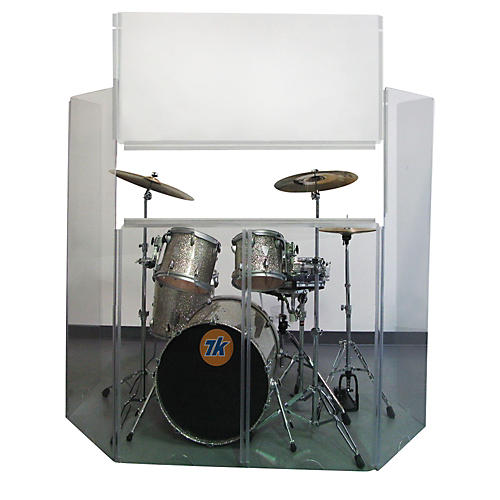 Control Acoustics Acrylic Drum Shield with Removable Front Panel thumbnail