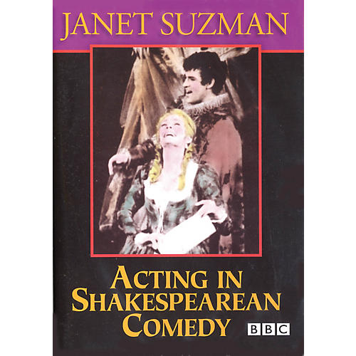 The Working Arts Library/Applause Acting in Shakespearean Comedy Applause Books Series DVD Written by Janet Suzman thumbnail