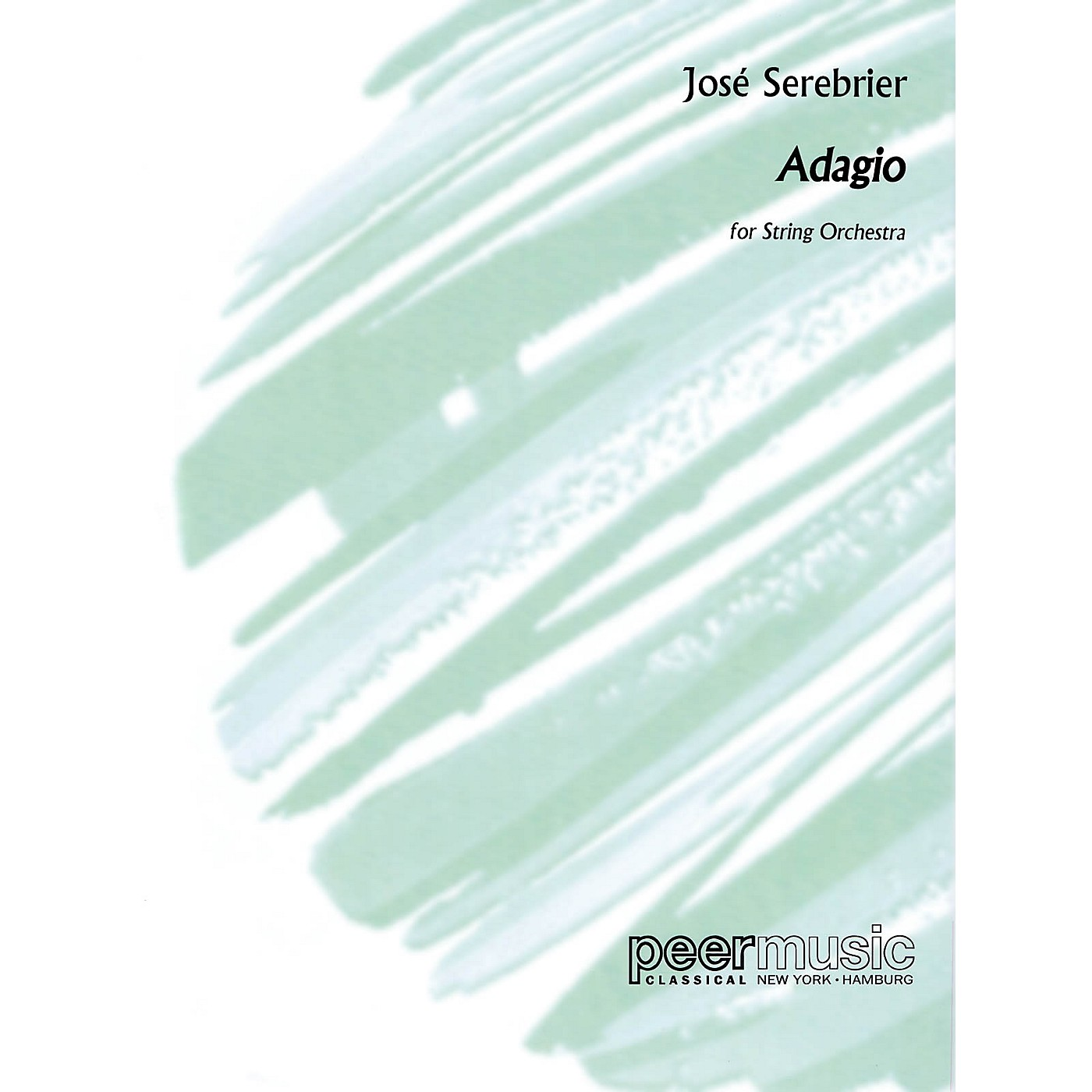 Peer Music Adagio (String Orchestra) Peermusic Classical Series Composed by José Serebrier thumbnail