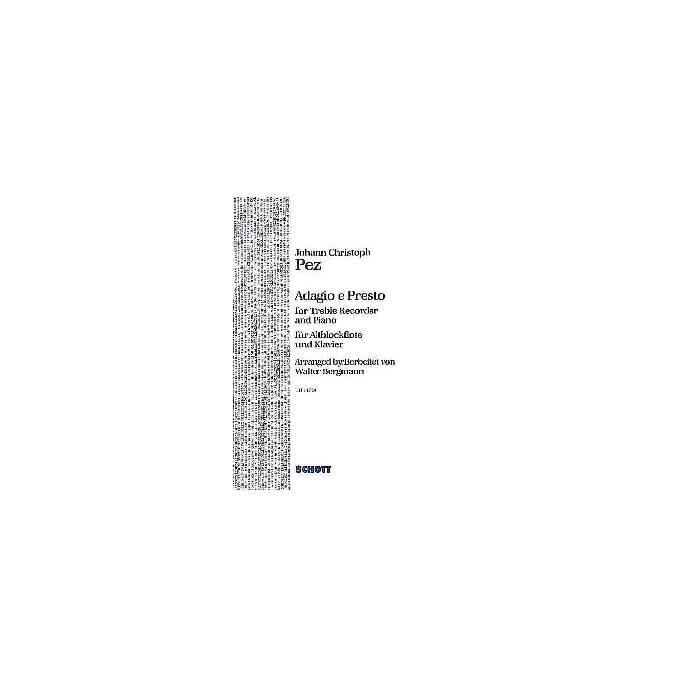 Schott Adagio and Presto Schott Series thumbnail