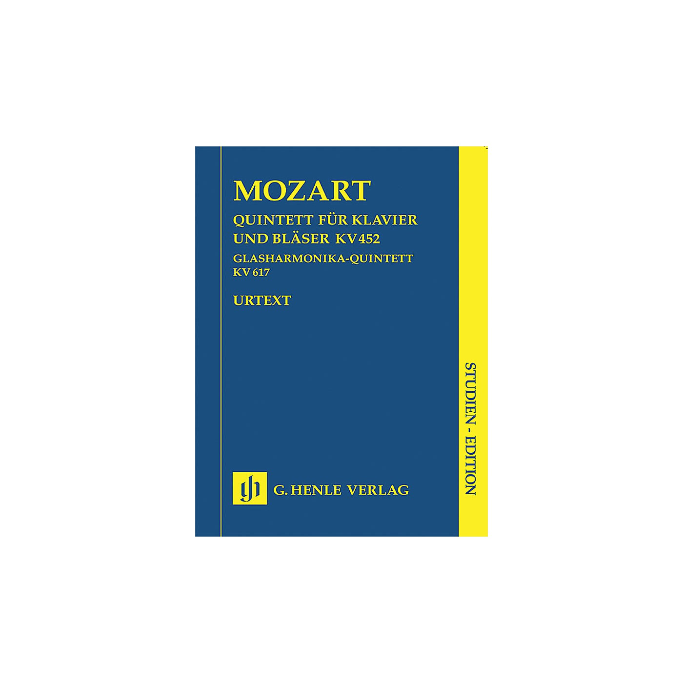 G. Henle Verlag Adagio and Rondo K617 Henle Study Scores Series Softcover Composed by Wolfgang Amadeus Mozart thumbnail