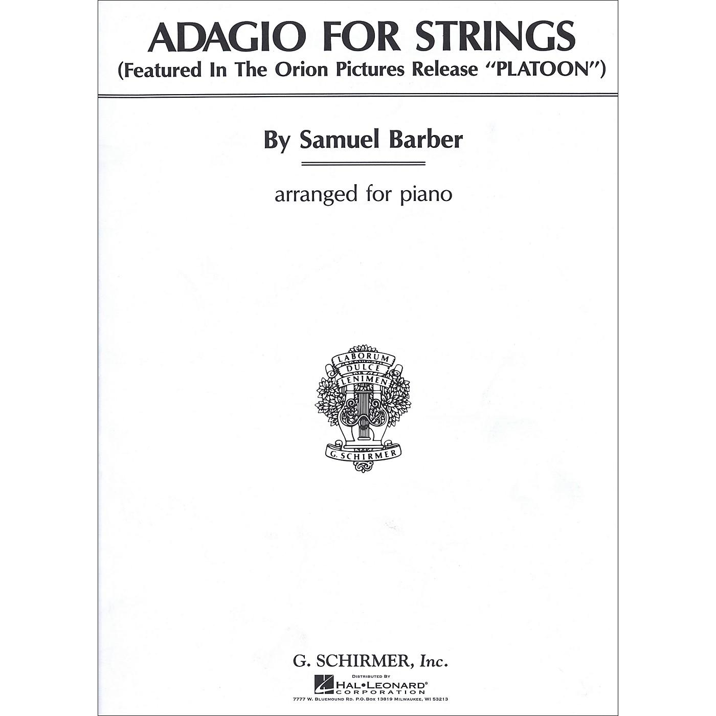 G. Schirmer Adagio for Strings thumbnail