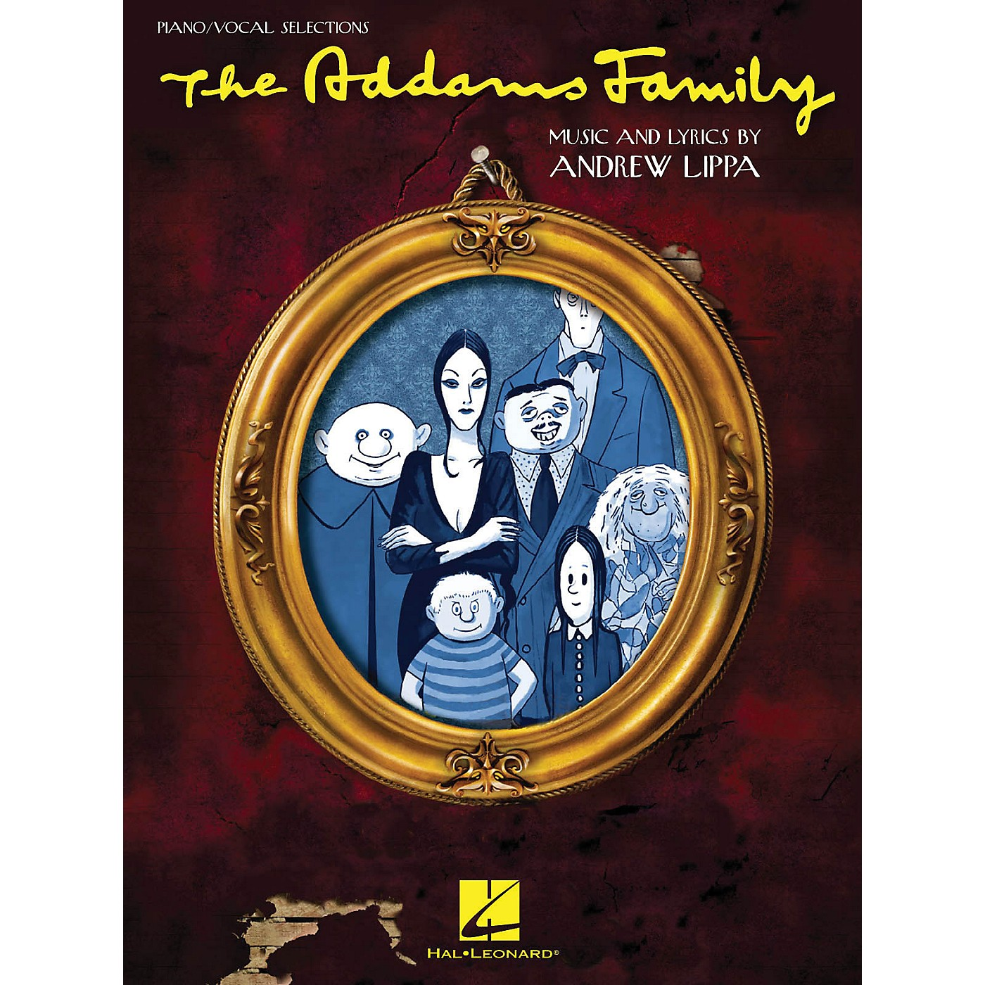 Hal Leonard Addams Family - Piano/Vocal Selections Songbook thumbnail