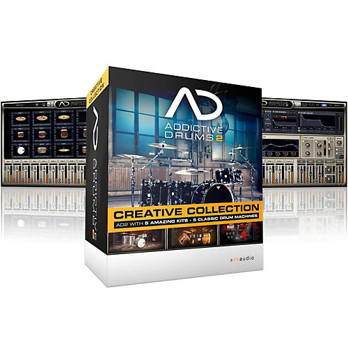 XLN Audio Addictive Drums 2: Creative Collection Software Download thumbnail