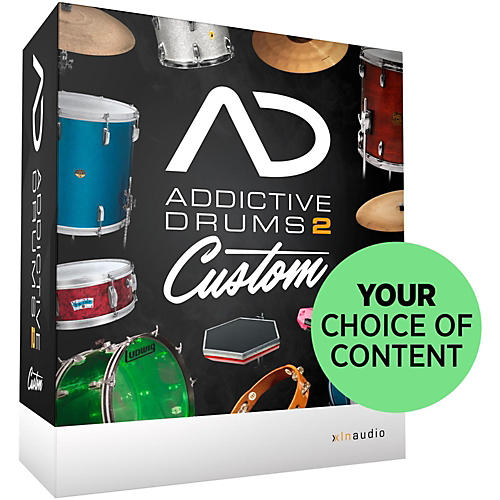 XLN Audio Addictive Drums 2: Custom thumbnail
