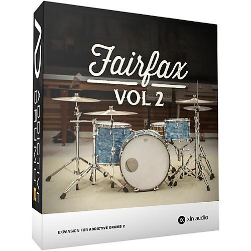 XLN Audio Addictive Drums 2: Fairfax Vol. 2 Software Download thumbnail