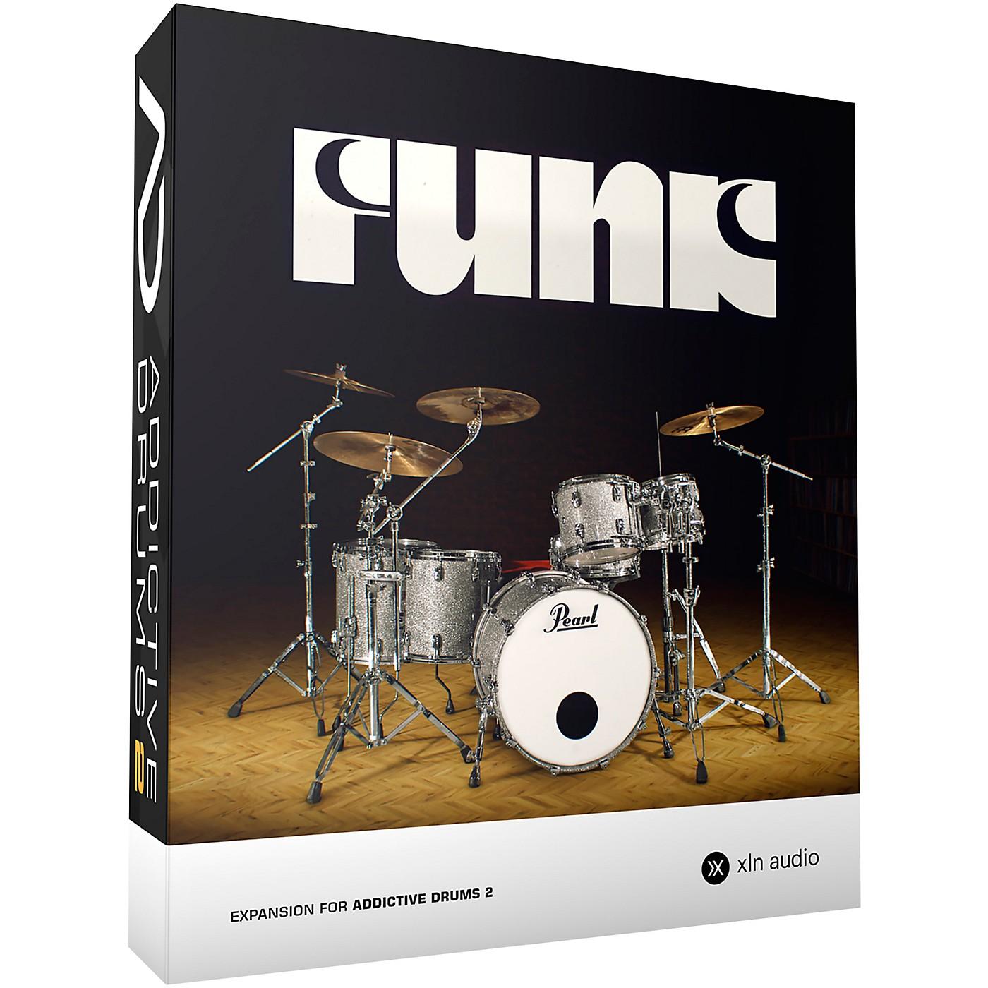 XLN Audio Addictive Drums 2  Funk thumbnail