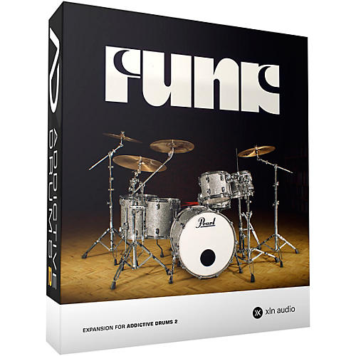 XLN Audio Addictive Drums 2  Funk thumbnail