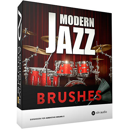 XLN Audio Addictive Drums 2  Modern Jazz Brushes thumbnail