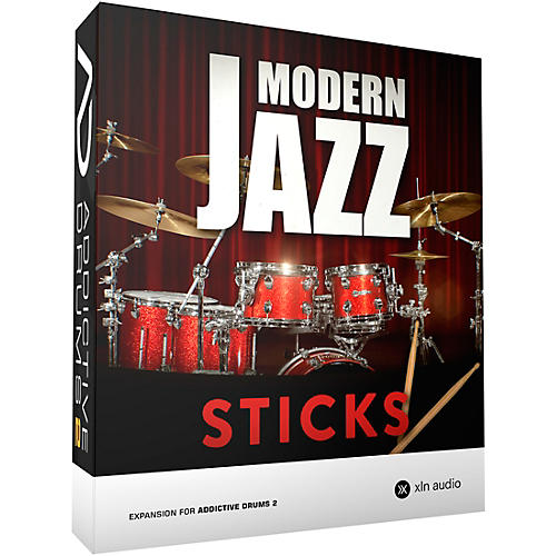 XLN Audio Addictive Drums 2  Modern Jazz Sticks thumbnail