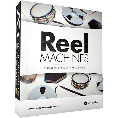 XLN Audio Addictive Drums 2  Reel Machines thumbnail