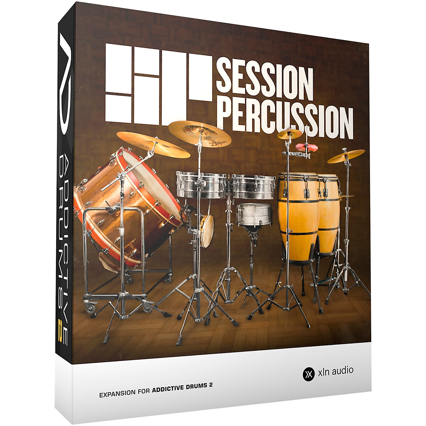 XLN Audio Addictive Drums 2  Session Percussion thumbnail