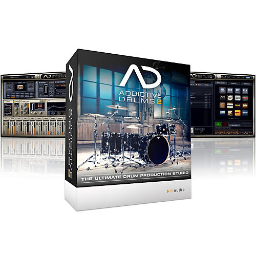 XLN Audio Addictive Drums 2 Software Download thumbnail