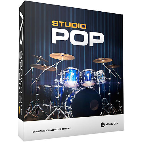 XLN Audio Addictive Drums 2  Studio Pop thumbnail