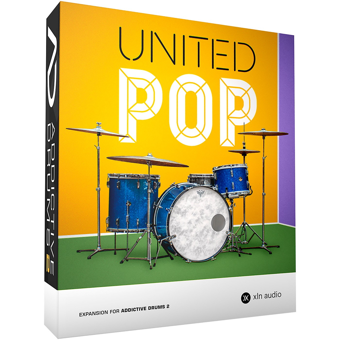 XLN Audio Addictive Drums 2: United Pop ADpak thumbnail