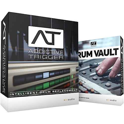 XLN Audio Addictive Trigger + Drum Vault Bundle thumbnail