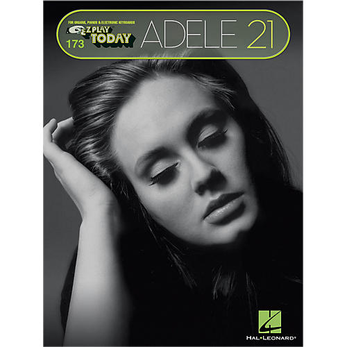 Hal Leonard Adele - 21 E-Z Play Today #173 Songbook thumbnail