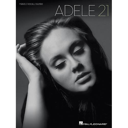 Hal Leonard Adele - 21 Songbook (P/V/G)-thumbnail