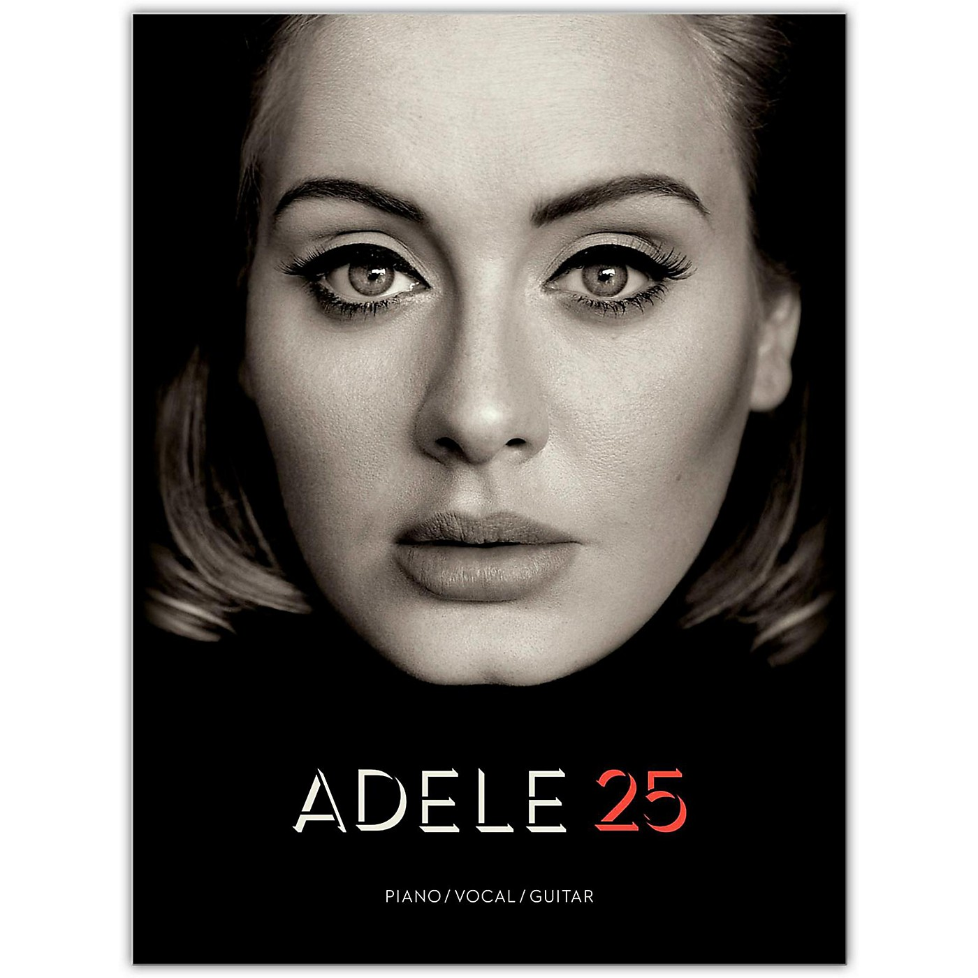 Hal Leonard Adele - 25 For Piano/Vocal/Guitar thumbnail