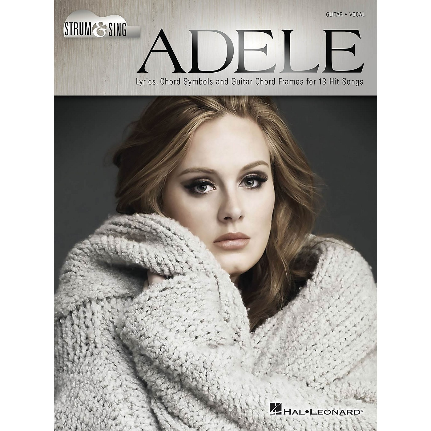Hal Leonard Adele - Strum & Sing Strum and Sing Series Softcover Performed by Adele thumbnail