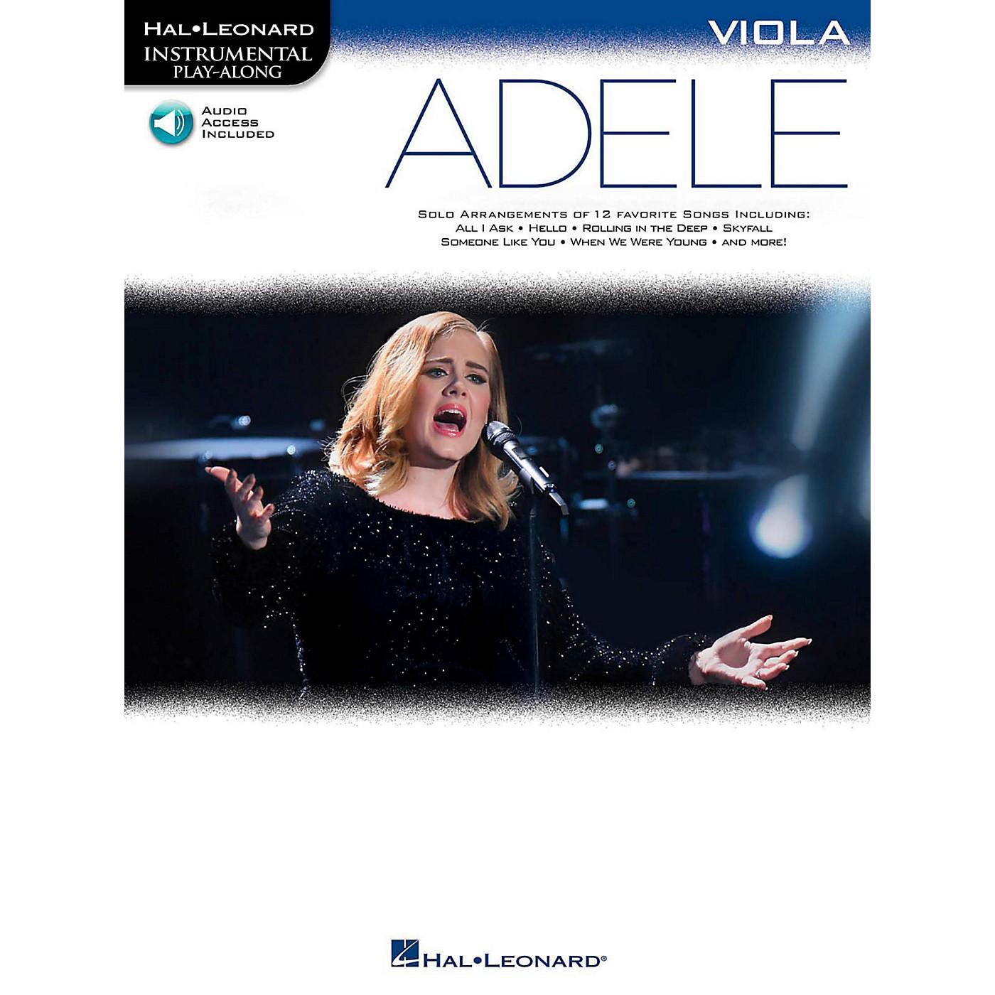 Hal Leonard Adele For Viola - Instrumental Play-Along thumbnail