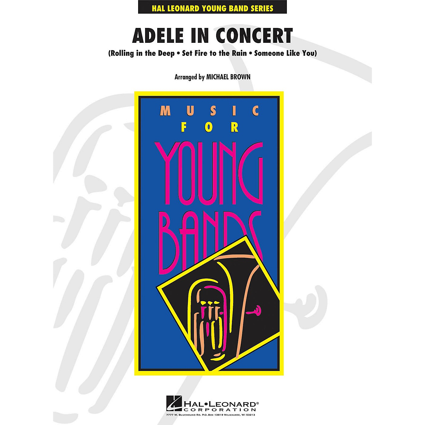 Hal Leonard Adele In Concert - Young Band Series Level 3 thumbnail