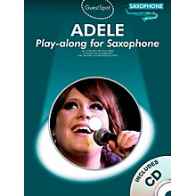 Music Sales Adele Play-Along For Alto Sax Book/CD