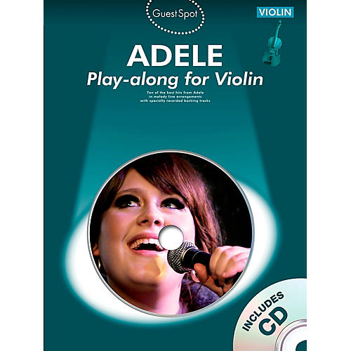 Music Sales Adele Play-Along For Violin Book/CD thumbnail