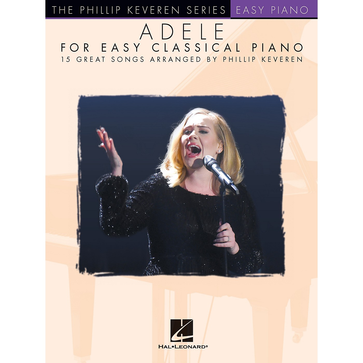 Hal Leonard Adele for Easy Classical Piano - 15 Great Songs Arranged by Phillip Keveren thumbnail
