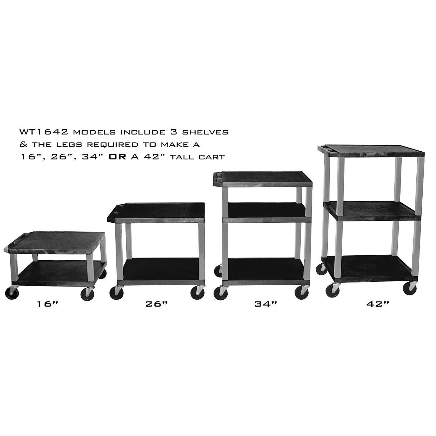 H. Wilson Adjustable-Height Open Shelf Tuffy Cart thumbnail
