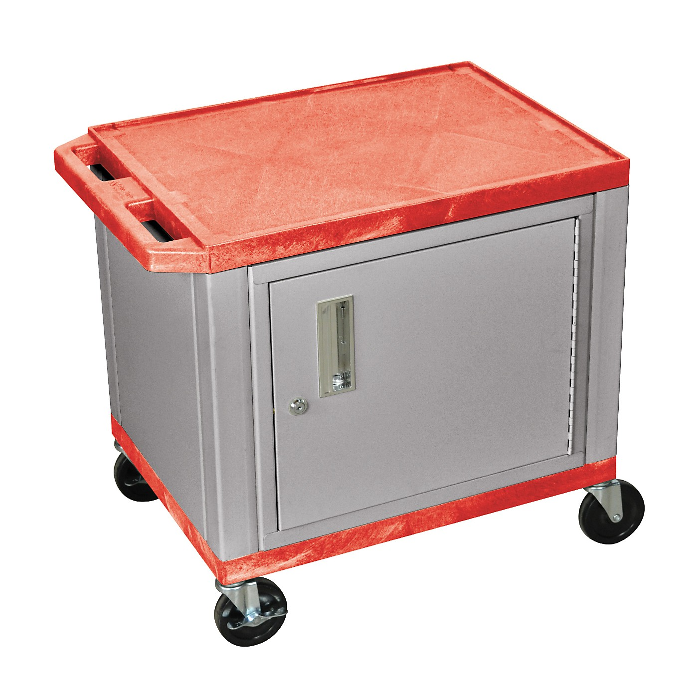 H. Wilson Adjustable-Height Tuffy Cart with Lockable Cabinet thumbnail